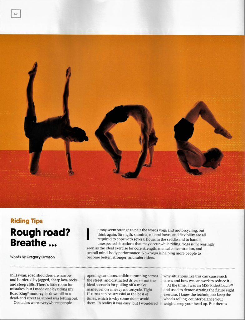 How yoga can help riders